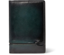 Jagua Gaspard Polished-leather Bifold Cardholder