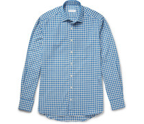 Gingham Cotton-flannel Shirt