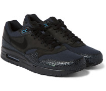 Air Max 1 Premium Nubuck, Leather And Canvas Sneakers
