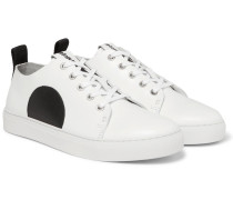 Chris Panelled Leather Sneakers