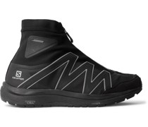 + Salomon Rubber-Trimmed Ripstop Sneakers