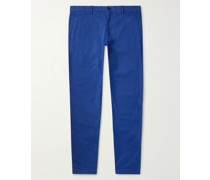 Connor Slim-Fit Tapered Stretch-Cotton Twill Chinos