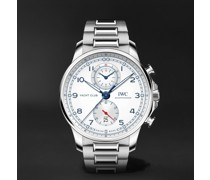 Portugieser Yacht Club Automatic Chronograph 44.6mm Stainless Steel Watch, Ref. No. IW390702