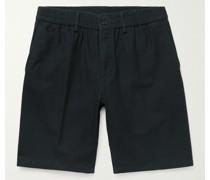 Utility Washed-Cotton Shorts