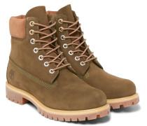 Premium Waterproof Nubuck Boots
