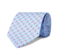 9cm Floral Silk-Jacquard Tie