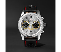 Norton V4/RR Limited Edition Automatic Chronometer 43mm Stainless Steel and Leather Watch