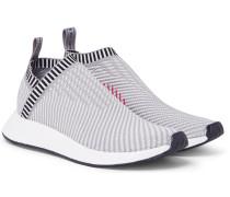 Nmd Cs2 Pk Rubber-trimmed Primeknit Sneakers
