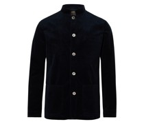 Sackville Artist Nehru-Collar Cotton and Cashmere-Blend Corduroy Jacket