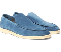 Summer Walk Suede Loafers