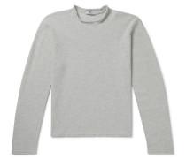 Herringbone Merino Wool Sweater