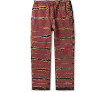 Tie-Dyed Denim Trousers