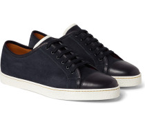 Levah Suede And Leather Sneakers