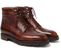 Alder Burnished-Leather Boots