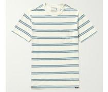 Surfrider Striped Organic Cotton-Jersey T-Shirt