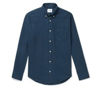 Levon Button-Down Collar Cotton Shirt