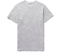 Paisley-print Cotton-jersey T-shirt