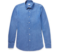 Kurt Slim-fit Cotton-chambray Shirt