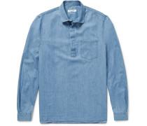 Washed-denim Shirt