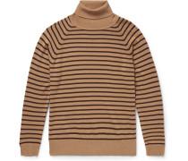 Striped Wool Rollneck Sweater