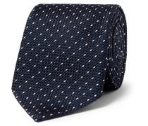 6cm Polka-dot Silk Tie