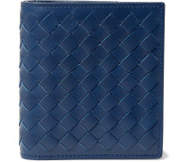 Intrecciato Leather Billfold Wallet