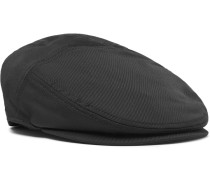 Stretch Wool And Cotton-blend Twill Flat Cap