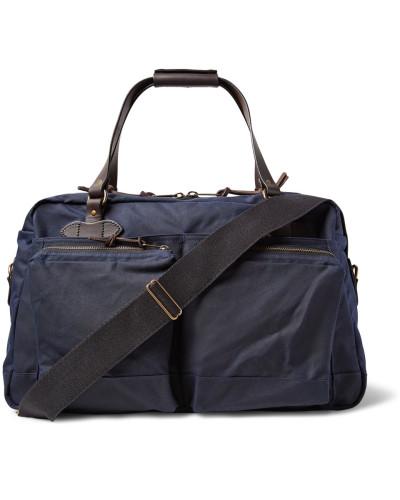 Filson Herren 48-hour Leather-trimmed Tin Cloth Duffle Bag