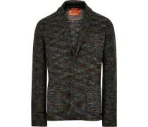 Unstructured Knitted Wool Blazer