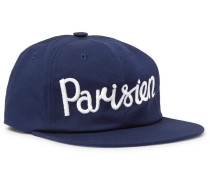 Embroidered Cotton-blend Twill Baseball Cap