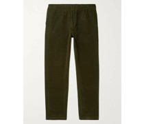 Foss Tapered Cotton-Corduroy Trousers