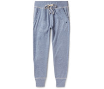 Slim-fit Mélange Jersey Sweatpants