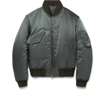 Padded Shell Bomber Jacket