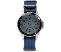 Archive Navi Ocean 38mm Stainless Steel and Nylon-Webbing Watch