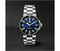 Aquis Date Stainless Steel Automatic Watch