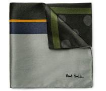 Printed Silk-satin Pocket Square