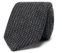 + Drake's Woven Wool Tie