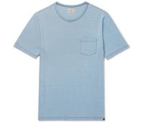 Slub Mélange Cotton-jersey T-shirt
