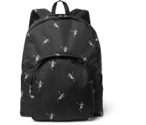 Printed Shell Backpack