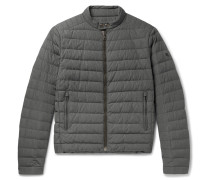 Lawton Quilted Shell Down Jacket