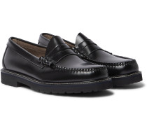 Weejuns 90s Larson Polished-Leather Penny Loafers