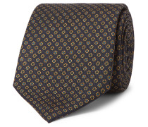 8cm Printed Silk Tie