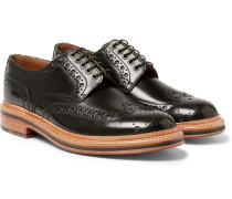 Archie Polished-leather Wingtip Brogues