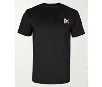 Slim-Fit Air-Wear Stretch-Mesh T-Shirt