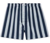 Royal Striped Cotton Boxer Shorts
