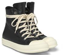 Ramones Cap-toe Leather High-top Sneakers