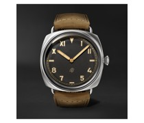 Radiomir California Hand-Wound 47mm Stainless Steel and Suede Watch, Ref. No. PAM00424