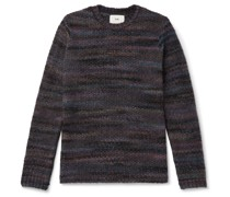 Slim-Fit Knitted Sweater