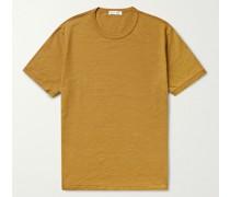 Standard Slim-Fit Slub Cotton-Jersey T-Shirt