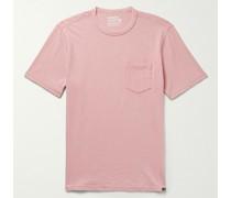 Sunwashed Organic Cotton-Jersey T-Shirt